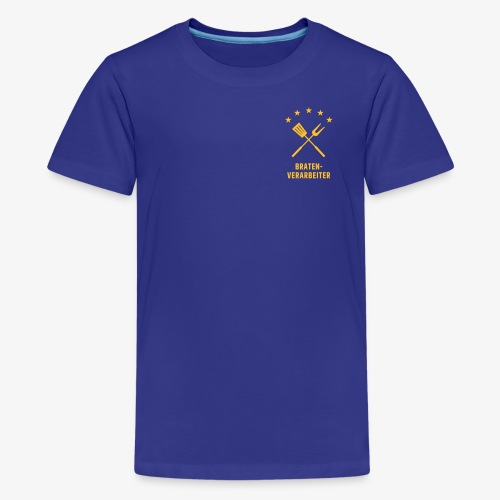 Braten-Verarbeiter - Teenager Premium T-Shirt