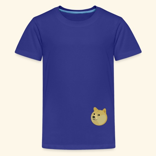 doge - Teenager premium T-shirt