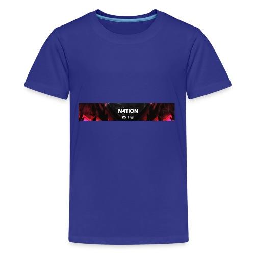 N4TI0N CLAN T-Shirt - Teenager Premium T-Shirt