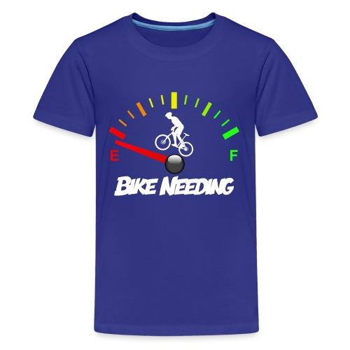Bike Needing - Maglietta Premium per ragazzi