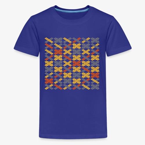 Autobahnkreuze Mesh - Teenager Premium T-Shirt