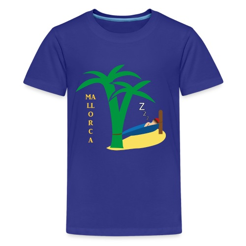 Mallorca - Urlaub unter Palmen - Teenager Premium T-Shirt