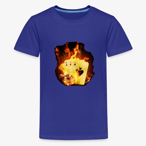 Flamme THE TEXAS HOLDEM - Teenager Premium T-Shirt