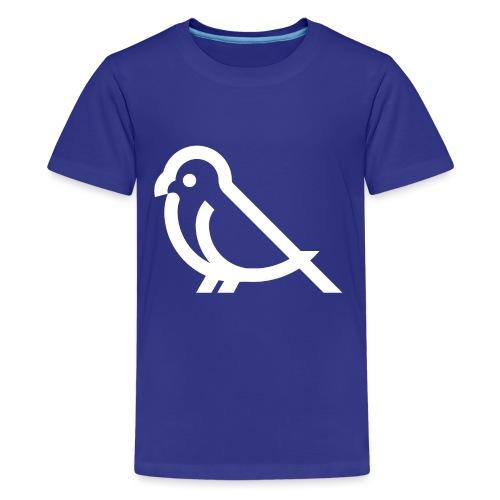 bird weiss - Teenager Premium T-Shirt