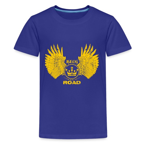 WINGS King of the road light - Teenager Premium T-shirt