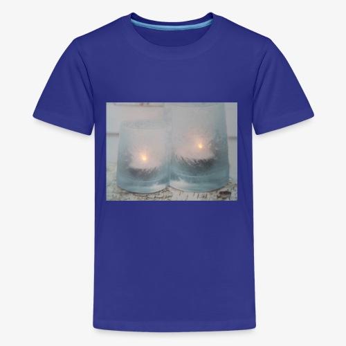Selectie kaarslicht - Teenager Premium T-shirt