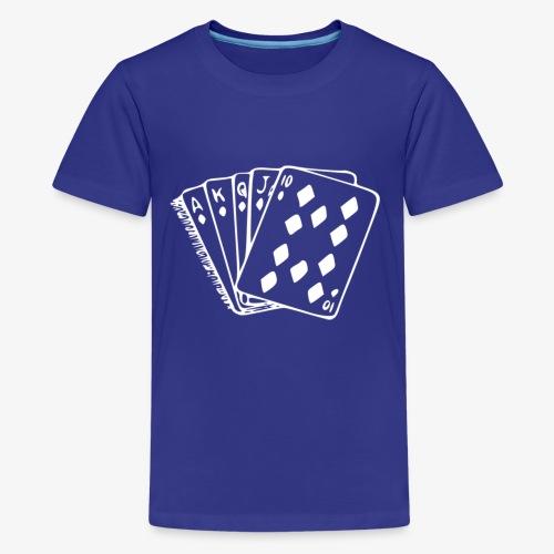 Royal FLUSH - Teenager Premium T-Shirt
