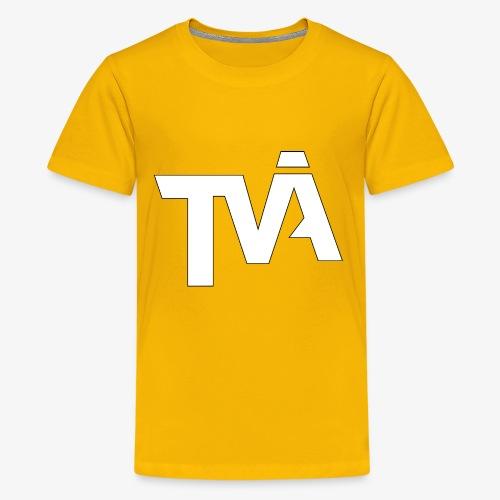 TVÅHUNDRA VIT - Premium-T-shirt tonåring