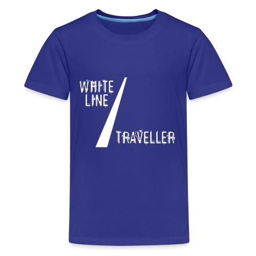 white line traveller - Teenager Premium T-shirt