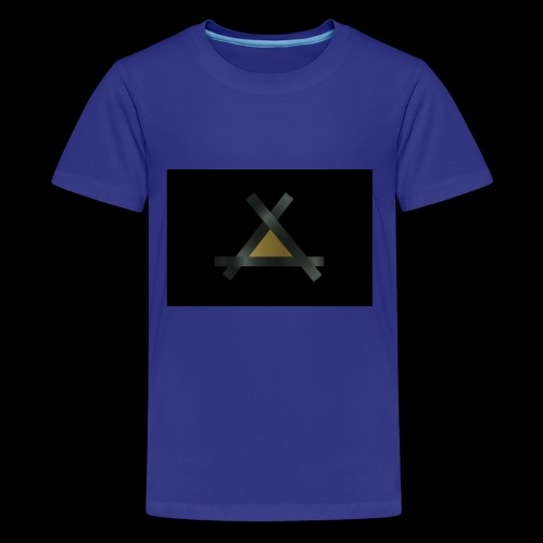 Triank Gold-Braun - Teenager Premium T-Shirt
