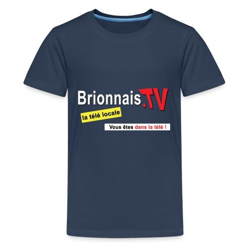 BTV logo shirt dos - T-shirt Premium Ado