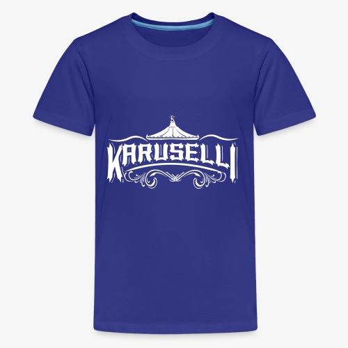 Karuselli - Teinien premium t-paita
