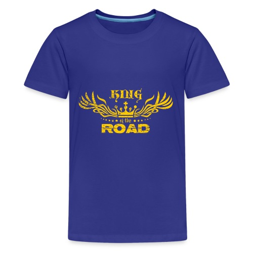 King of the road light - Teenager Premium T-shirt