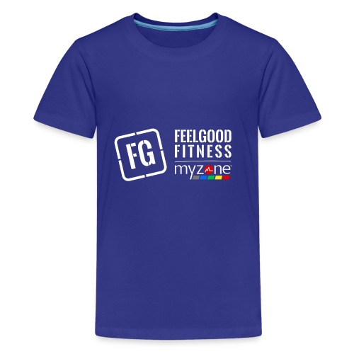 feelgood myzone merch - Teenage Premium T-Shirt