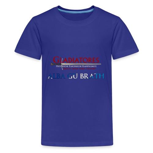 ALBAGUBRATH - Teenager Premium T-Shirt