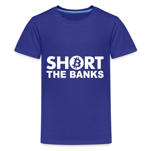Short banks - Teenager Premium T-Shirt
