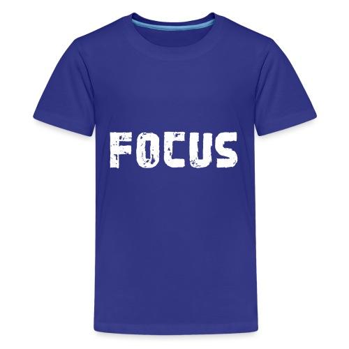 Focus Style - Teenager Premium T-Shirt