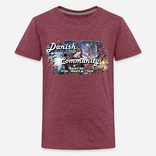 Dansih community - fivem2 - Teenager premium T-shirt