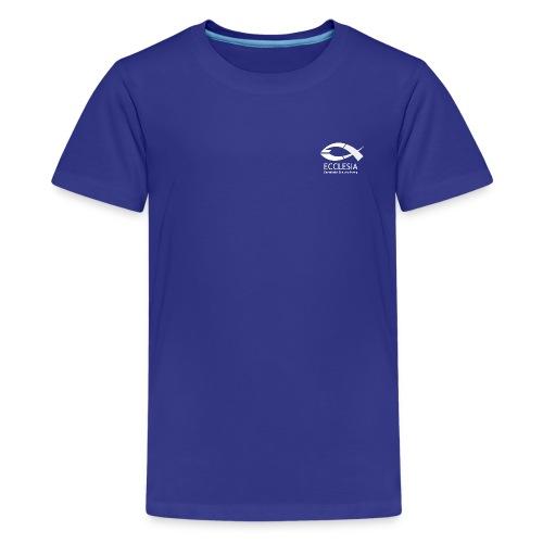 Logo eg bs inv sw eps png - Teenager Premium T-Shirt