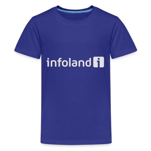Infoland Logo - Teenager Premium T-shirt