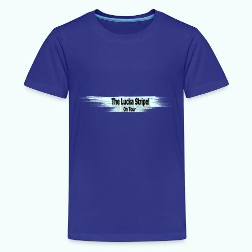 LuckaStripeOnTour - Teenager Premium T-Shirt