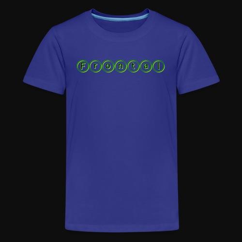 ƒяσηтαℓ (green) - Teenager Premium T-Shirt