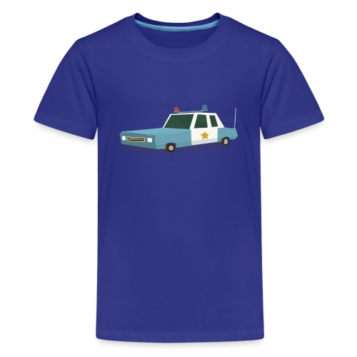 Police car t shirt - Teenage Premium T-Shirt