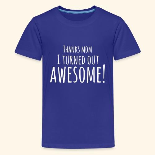 awesome - Teenager Premium T-shirt