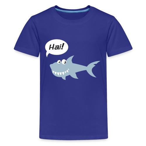 Hai! - Teenager Premium T-Shirt