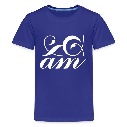 Introduce Hood Grey - Teenage Premium T-Shirt