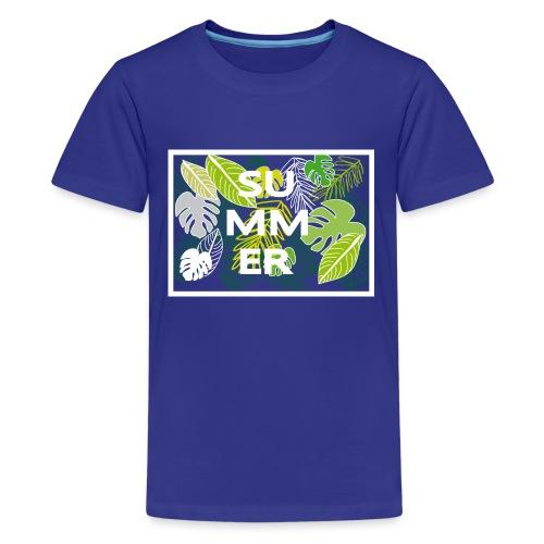Summer - Sommer - Teenager Premium T-Shirt
