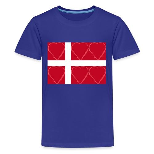 Dänemark 21.2 - Teenager Premium T-Shirt