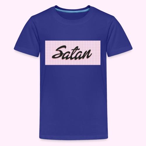 Satan cap - Teinien premium t-paita