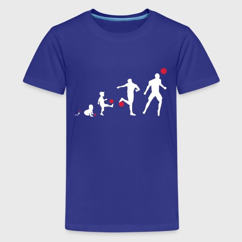 Football Evolution - T-shirt Premium Ado
