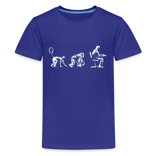 Evolution - Teenage Premium T-Shirt