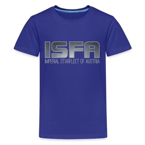 ISFA Logo Abzeichen3 - Teenager Premium T-Shirt