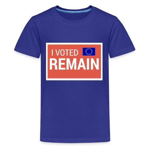 Remain - Teenage Premium T-Shirt