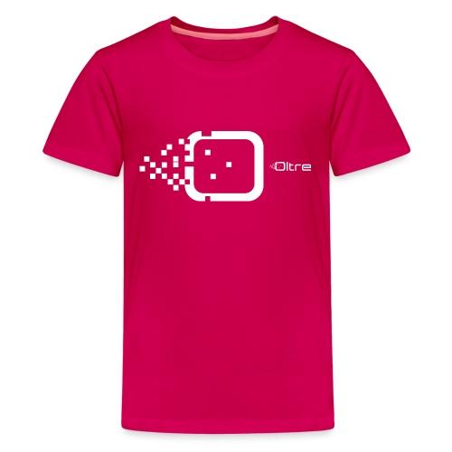 Logo Associazione Oltre - Maglietta Premium per ragazzi