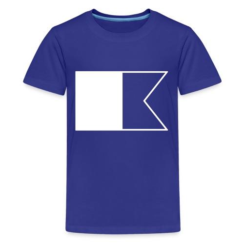 Duikvlag - Teenager Premium T-shirt