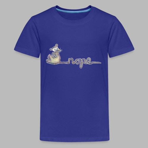 Nope - Teenage Premium T-Shirt