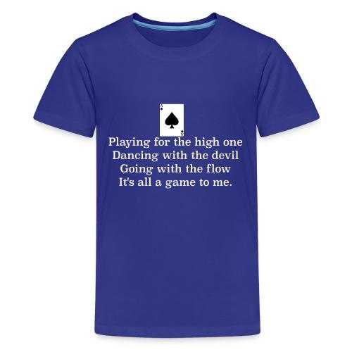 ace of spades lyrics #1 - Teenage Premium T-Shirt