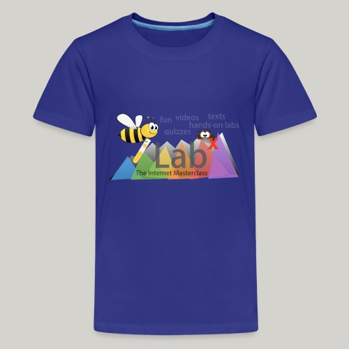 iLabX - The Internet Masterclass - Teenage Premium T-Shirt