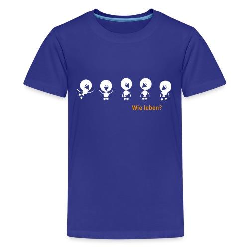 cucu Vögel - Teenager Premium T-Shirt
