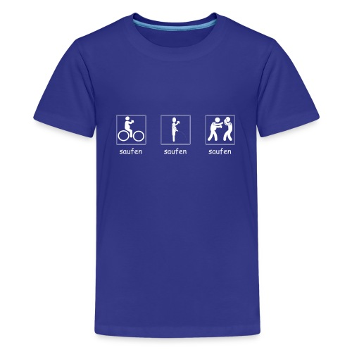 Vatertag #02 - Teenager Premium T-Shirt