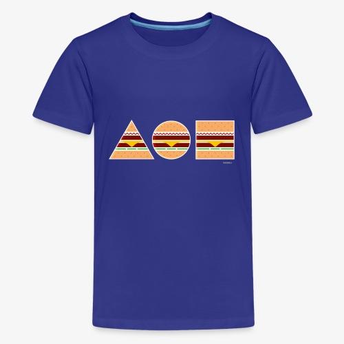 Graphic Burgers - Maglietta Premium per ragazzi
