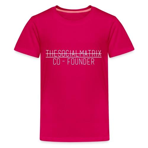 JAANENJUSTEN - Teenager Premium T-shirt