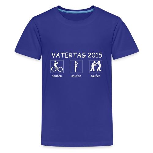 Vatertag #01 - Teenager Premium T-Shirt