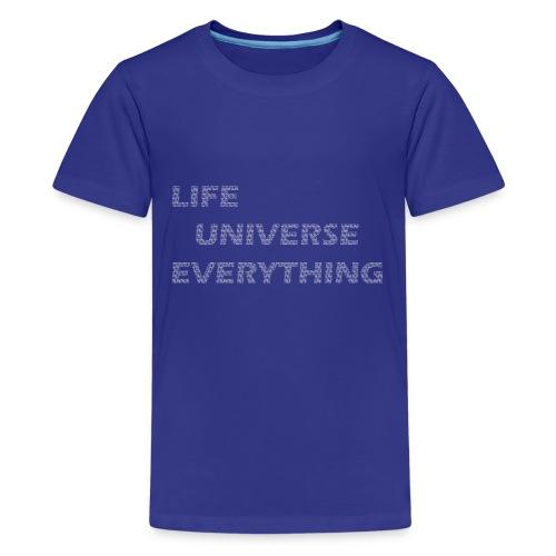 fourtytwo - Teenage Premium T-Shirt