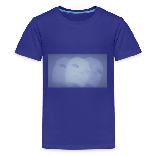 Maschere celeste - Maglietta Premium per ragazzi