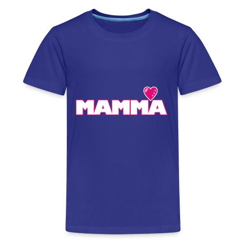 MAMMA - Premium-T-shirt tonåring
